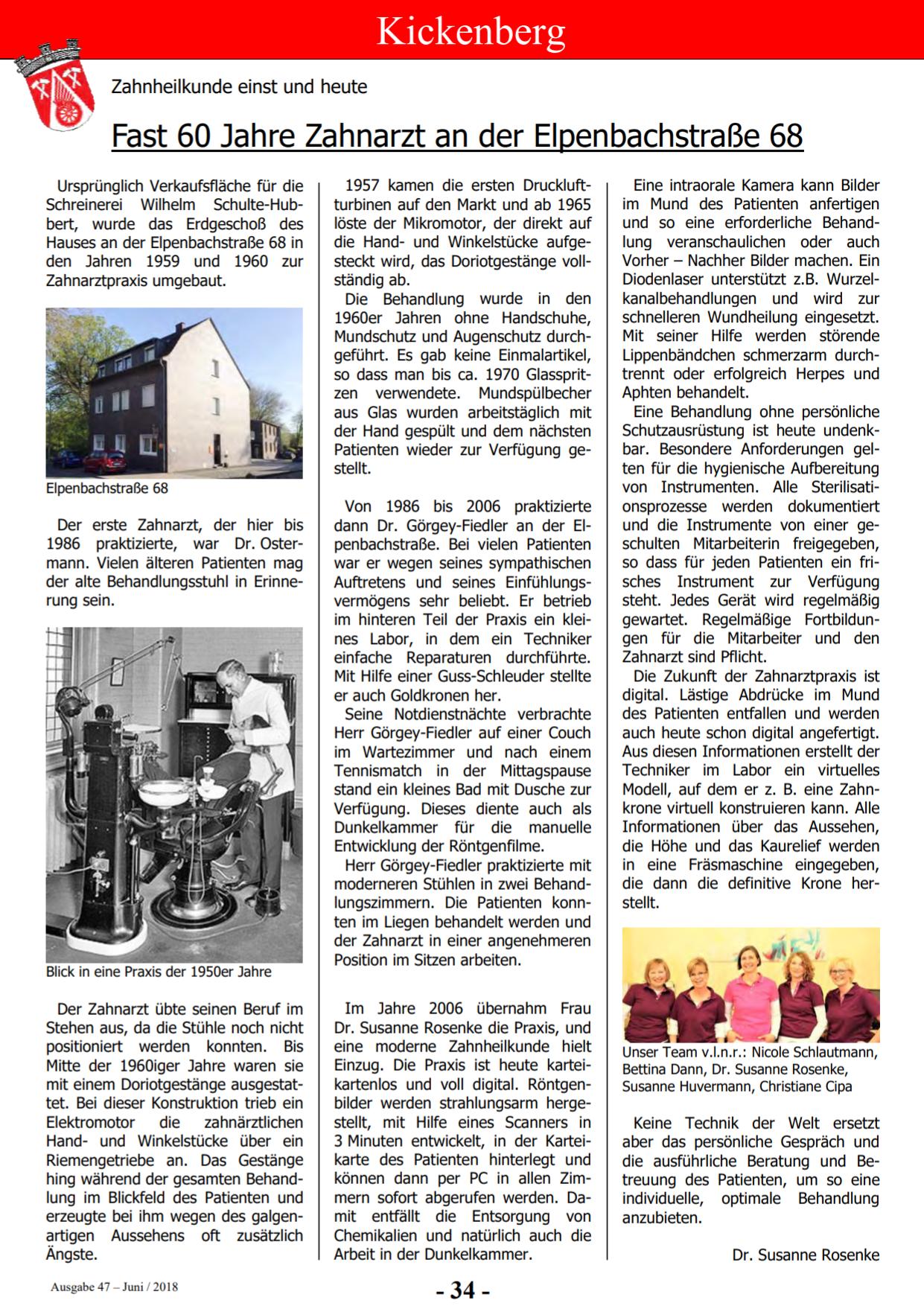 Bericht aus Kickenberg - Die Zeitschrift (Ausgabe 47)