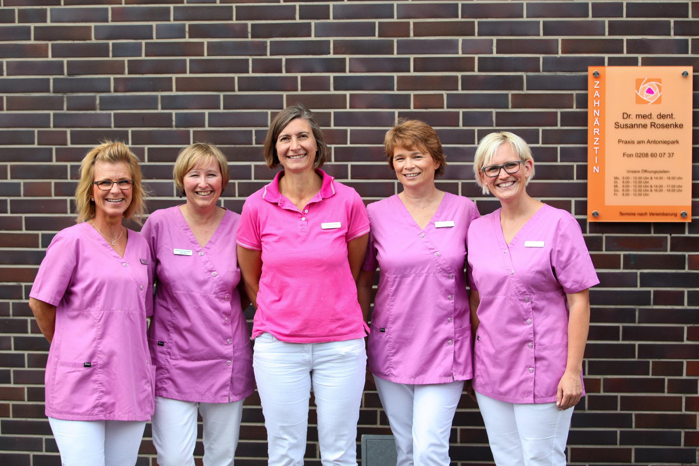Zahnarzt Oberhausen Susanne Rosenke Team