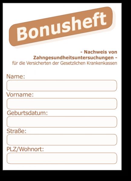 Zahnarzt Oberhausen Susanne Rosenke - Bonusheft